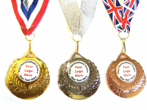 Heavy Metal Medal and Ribbon Special 50mm